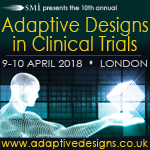 10th annual Adaptive Designs in Clinical Trials, 09-10 April 2018, Copthorne Tara Hotel, London, UK