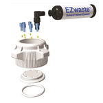 New EZWaste Vented Carboys Prevent Spills and Eliminate Odors