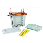 New Maxi Z™ Electrophoresis System Fast Set up, Max. Capacity