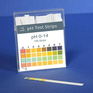 pH 0-14 Indicator Sticks, 6x85mm