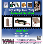 High Voltage Diodes, Power Supplies and Related Assemblies