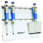 alpha+ Pipettes - Ideal for Teaching Labs – Now with Free Stand